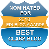 Nominated Best Class Edublogs 2010